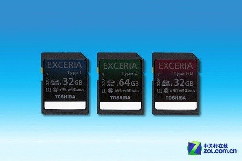 最高90MB/s写入 东芝发3款新SD存储卡