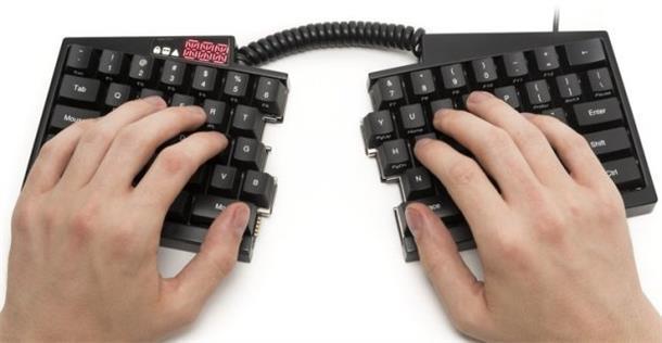 可编程黑客开源机械键盘:一言不合就分家
