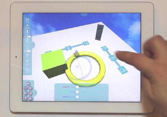 3D建模好僚佐 iPad平板3D设计运用Morphi讯问世