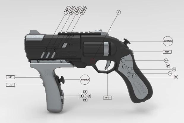 有了这款VR无线游戏枪 你的走位一定更加灵活