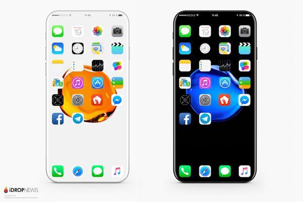 如果iPhone 8真长这样 花1万块买也值吧?!