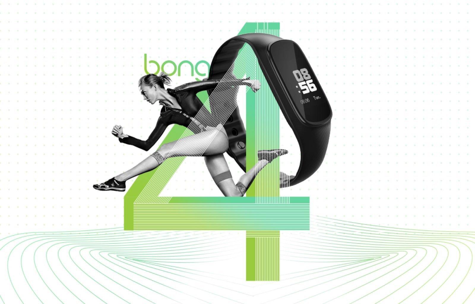 bong 4智能运动手环