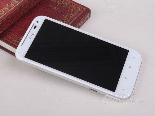 HTC Sensation XL 白色 外观图