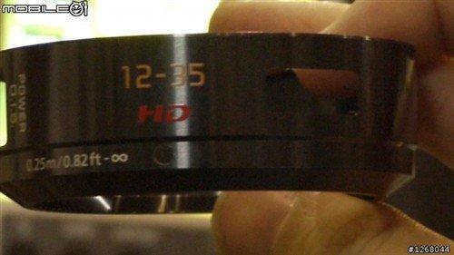 松下12-35mm新型大光圈饼干变焦头曝光