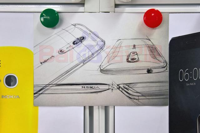 诺基亚双摄新机设计图曝光 或仍有蔡司镜头加持