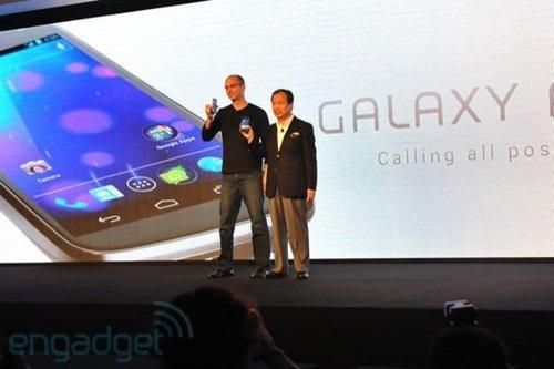 三星11月起在欧洲销售Galaxy Nexus手机(图)