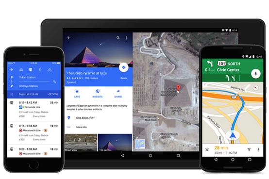 Android谷歌地图更新 可查目的地天气等信息