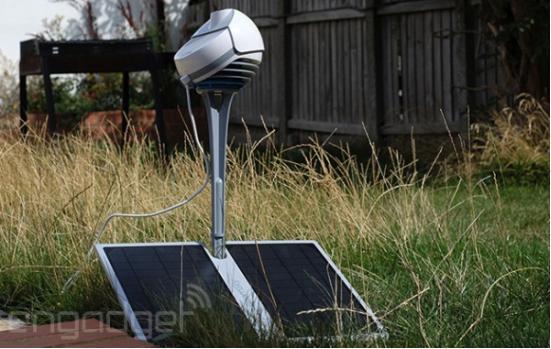 BloomSky智能天气监测器体验 延时视频是亮点