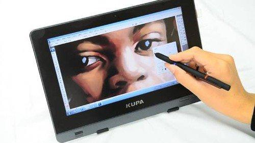 网友用kupa x11平板电脑手绘缅怀迈克尔·杰克逊