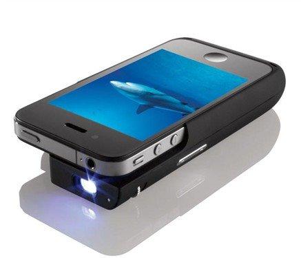 法国风格iphone4创意配件搜罗 投影仪底座现身图片