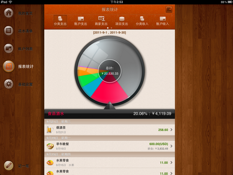 最佳应用软件 随手记iPad版本首次限免