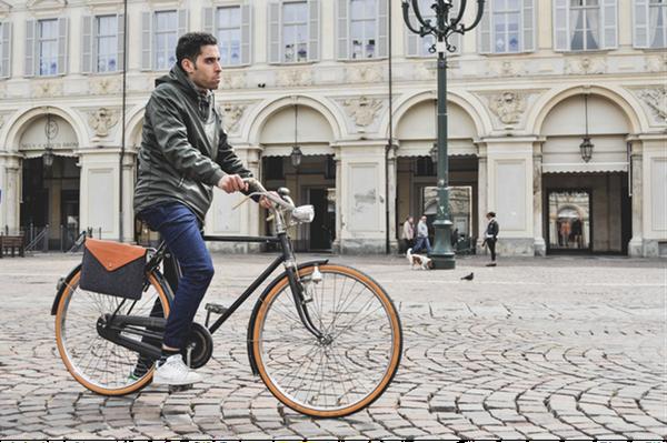 时尚又方便的自行车包 拿下来就是手包