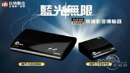 台湾ZINWELL联合AMIMON首发无线高清影音传输器