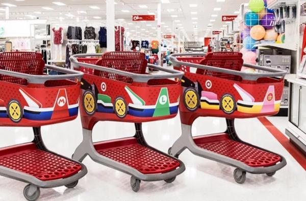 任天堂太受欢迎 美国超市变马里奥赛道