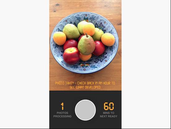 一小时照片:致力于让你饭前不发微博的应用
