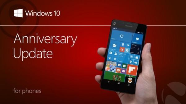 终于来了!Win10 Mobile周年更新向用户推送