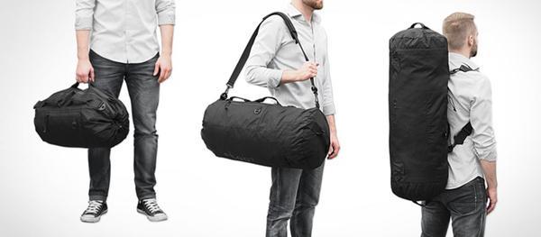 一个包三种大小形态 男人的包就该这么结实霸气