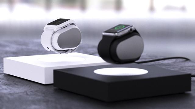 磁悬浮苹果表底座 这可能是迄今为止最酷的了