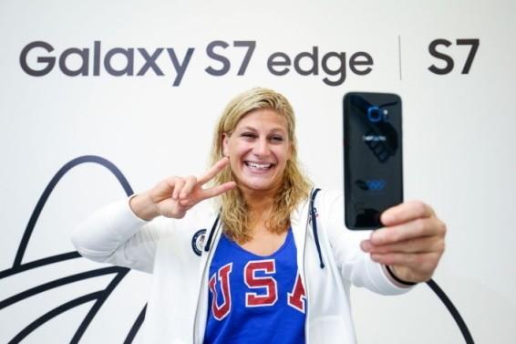 土豪任性 三星将赠送奥运选手限量版S7 edge