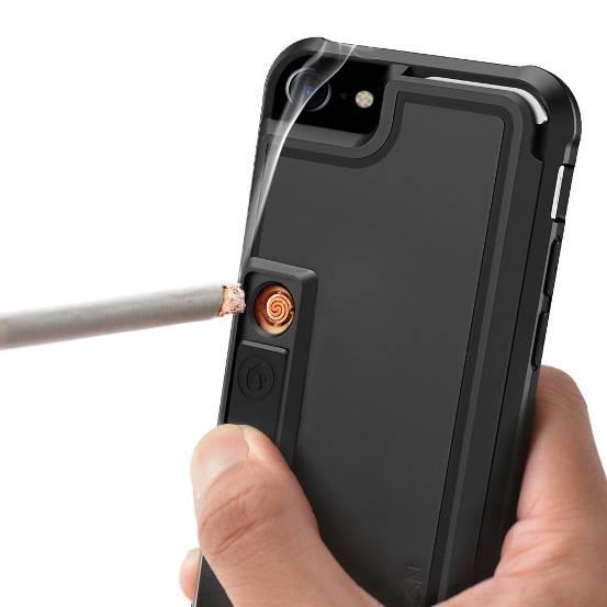 iPhone手机壳还带点烟器?赌你上不了飞机