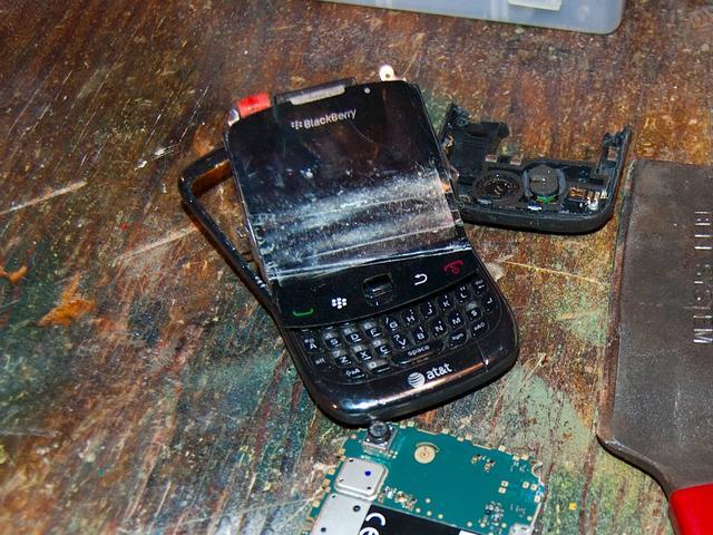 一个时代的终结?黑莓手机占有率已几乎为零