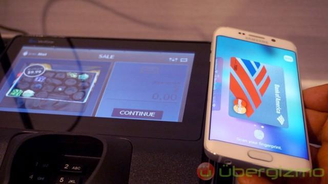 三星移动支付服务未来将支持手机转账