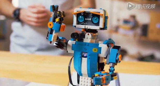 乐高推出Lego Boost可编程积木模块