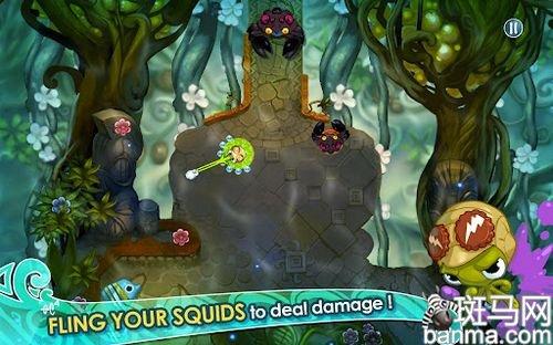 画面可爱到冒泡儿了 安卓章鱼小英雄试玩