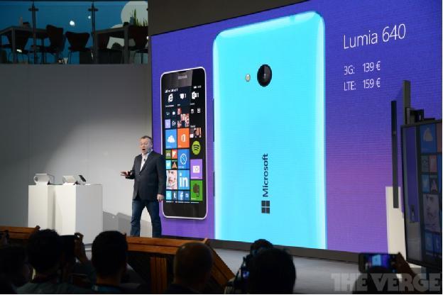 微软发布Lumia 640和640 XL 运行Win10系统