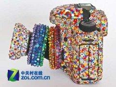 超萌超可爱 彩色糖果版佳能7D单反相机