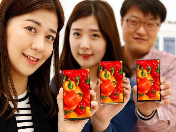 LG全球最窄0.7mm屏幕登场  或京东手机首发