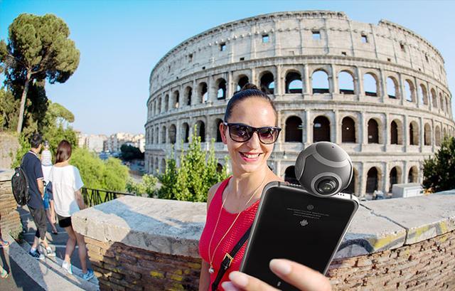 手机上装个小球秒变VR全景相机 2K视频小意思