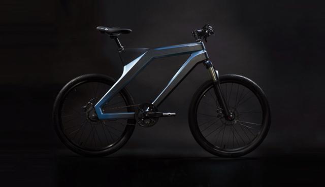 百度智能自行车正式亮相 可约骑支持自充电