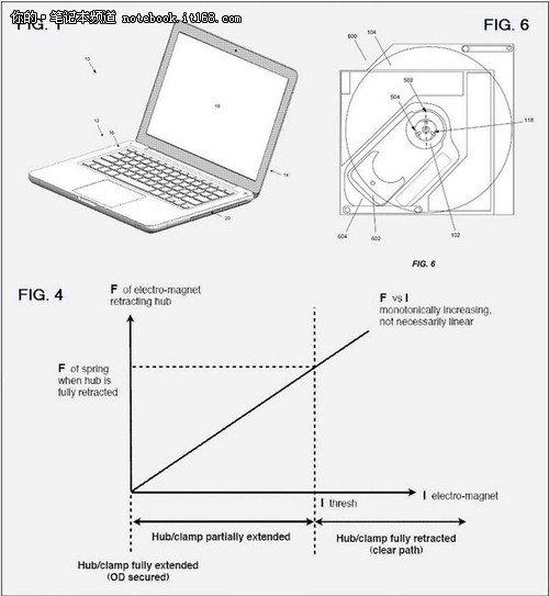 光驱升级 新专利揭秘更薄的Macbook Pro