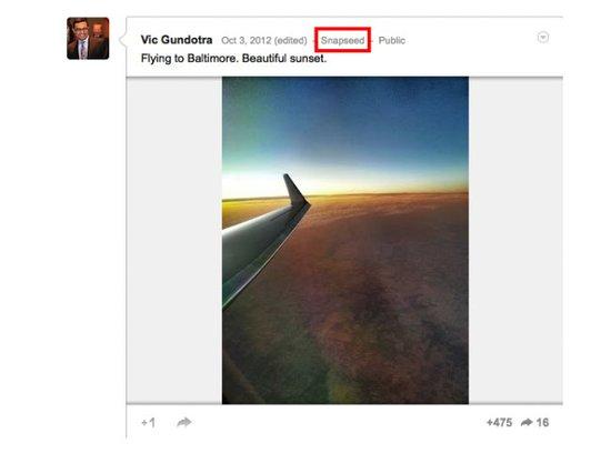 台出色作图软件Snapseed即将推出安卓版