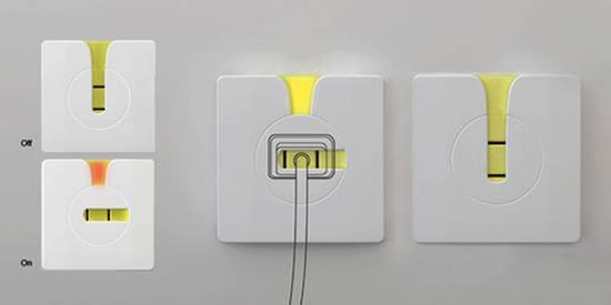 小插座大学问 形形色色的概念插座盘点_数码_