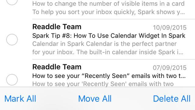 提升工作效率 iOS邮件应用使用技巧