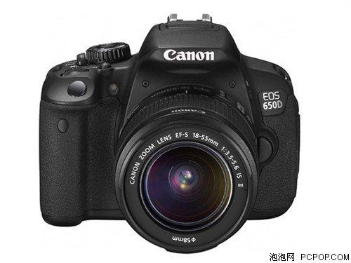 超值入门单反相机推荐 佳能650D领衔