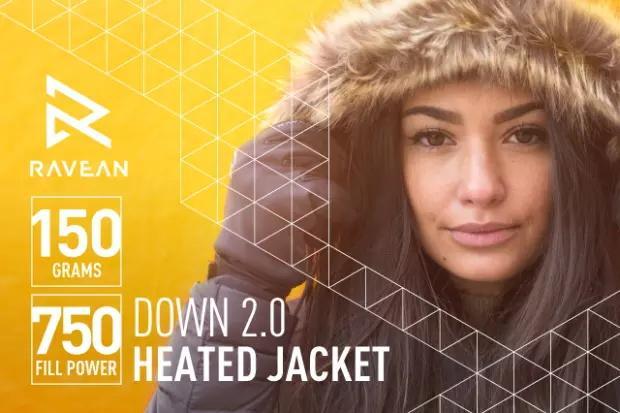 能自动加热还能给手机充电的羽绒服 这回不怕天冷关机了