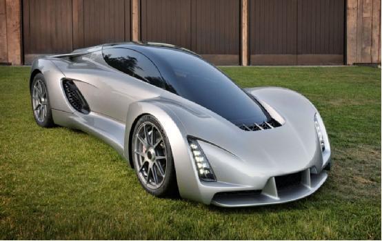 3D打印底盘超级跑车 百公里加速比法拉利还快