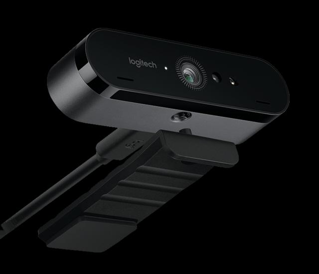 """罗技的全新4K HDR摄像头支持""""刷脸""""登录"""