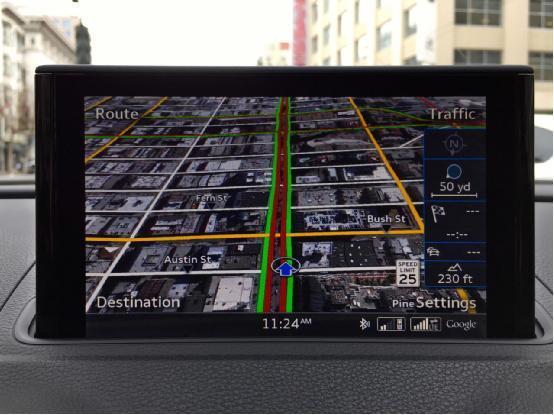 奥迪4G LTE联网汽车体验:绝对是未来趋势