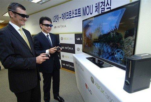 PK索尼!LG推出提供单屏双人游戏方案