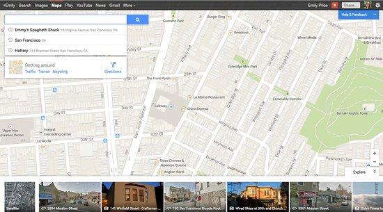 新版谷歌地图体验:街景照片成亮点