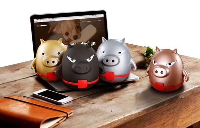 【寒武计划】这个小猪是个音箱也是移动电源