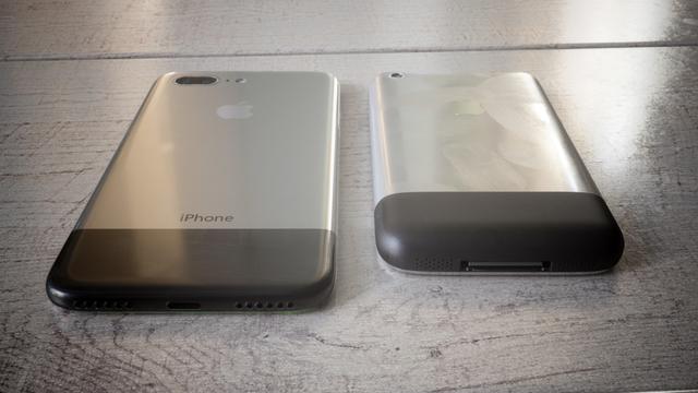 设计师脑洞出来的iPhone 8 回归初代你喜欢吗?