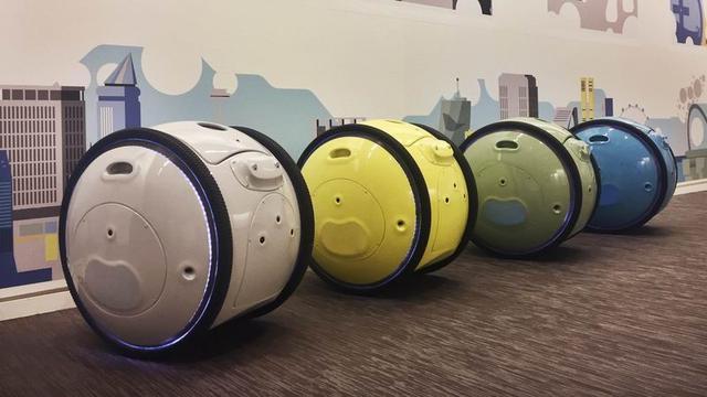 逛街不用带老公 Gita机器人能装行李还不抱怨