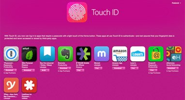 6������Touch ID����������Ϣ��Ӧ�ó���