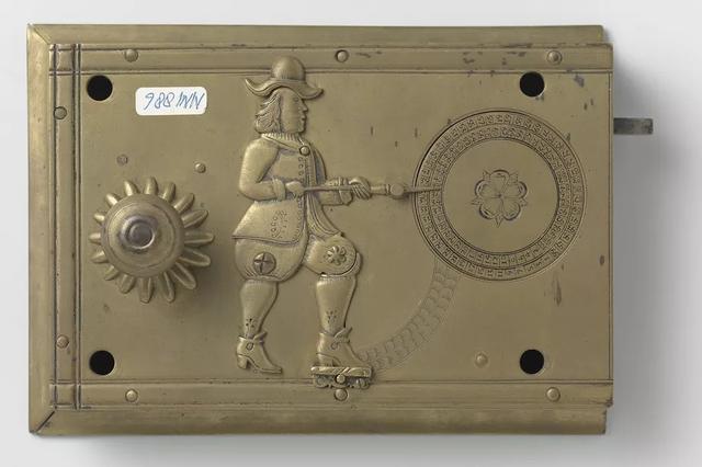 340年前的门锁居然还带验证码 只有主人能打开