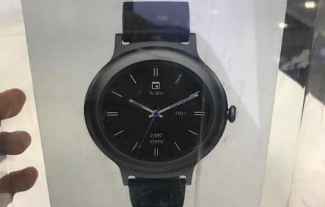 LG最新智能手表长这样?没秘密武器就没啥意思了